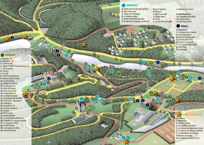 Le plan du domaine de chevetogne la f te de jardins for Chevetogne piscine